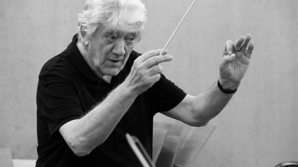 Photo of conductor Bernard Wacheux