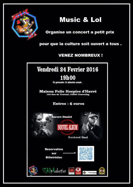 Rasheed Daci 24 Fevrier 2016 Tourcoing