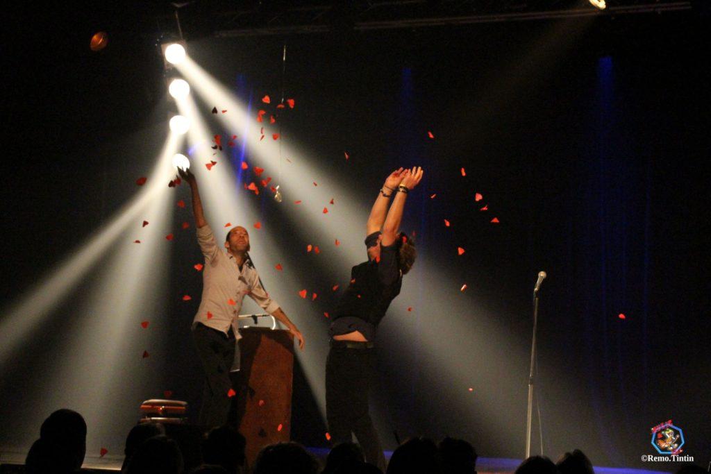 Greg ALLAYES et Benoit DENDIEVEL sur scène